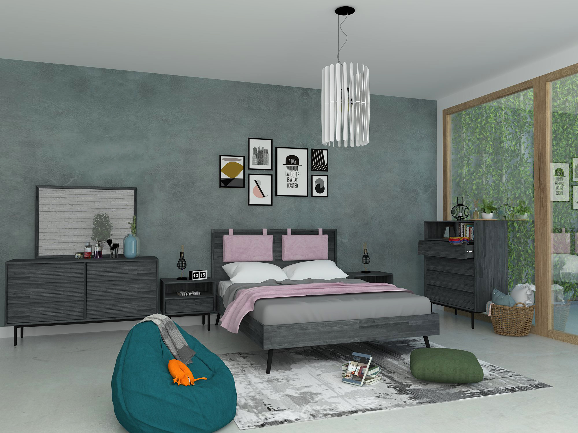 CAPELLA-3D Drawing-Bedroom